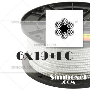 6x19+FC سیم بکسل حفاری