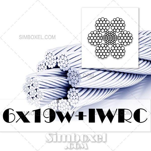 6x19w+IWRC