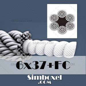 6x37+FC